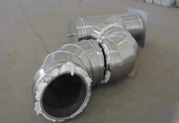 双层保温不锈钢烟囱
